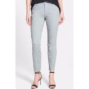 NYDJ Clarissa Ankle Jeans Moonstone Gray 14P